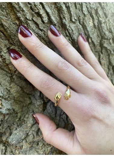 Modd Takı Sevgi Yüzüğü Moddyzk09 Altın